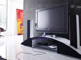 TV Media elementas/staliukas su garso sistema