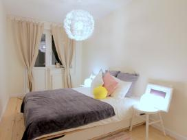 Skandinaviško stiliaus dviejų kambarių butas