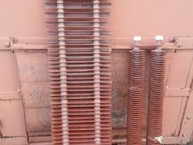 Radijatorius metalinis su aliuminiu apvalkalu