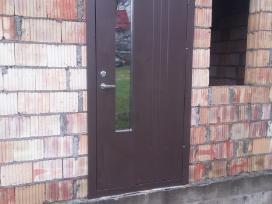 Šarvuotu durų remontas, gaminimas, montavimas