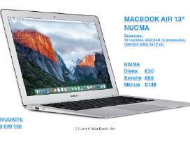 MacBook Air ir MacBook Pro nuoma