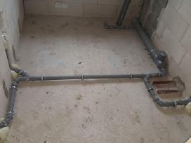 Santechnikos darbai Vilniuje/all plumbing services