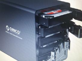 Orico HDD 8 Tб X5= 40 Tб kaina 290 euru.