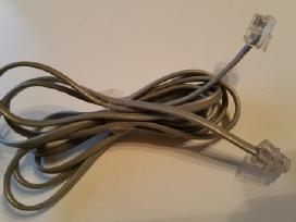Fiksuoto/ laidinio telefono laidas su antgaliais
