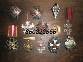 Kolekcijai papildyti ieskau ordinu medaliu zenklu