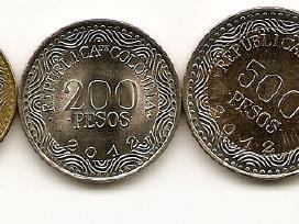 Kolumbijos 2012 metu monetu rinkinukas