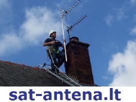 TV antenų montavimas derinimas