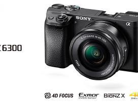 Sony Alpha 6300  A7 fotoaparatas