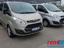 Naujų mikroautobusų Nuoma Ford Custom