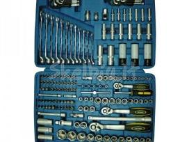 Kombinuoti galvučių ir įrankių rinkiniai
