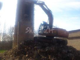 Ekskavatorių, buldozerių, bobkatų nuoma