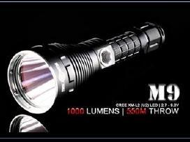 Prožektorius solarforce m9 - 1000 lumenu