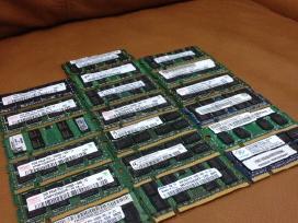 Nesiojamu kompiuteriu atmintis RAM ddr2 ddr3