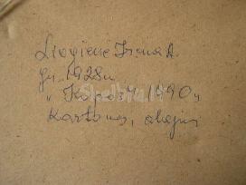 """Originalios Tapybos XX am. Darbas – """"kopos"""".1990"""
