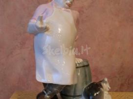 """Cccp poceliano statulele """"virejas ir kati"""