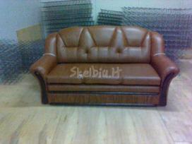 Minkštų baldų pervilkimas ir restauravimas