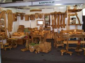 Ažuolo ir uosio medienos
