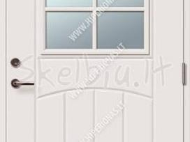 Šiltos lauko dazytos durys vilniuje