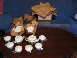 Porceliano arbatos servizas 6 asm.zr. foto.naujas