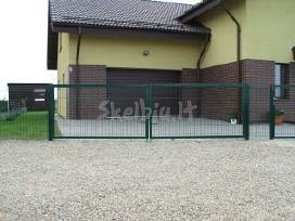 Tvoros:segmentinės,tinklinės,medinės