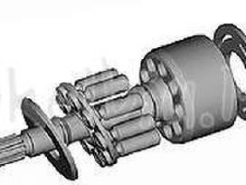 Hidraulika, siurbliai, motorai jų dalys