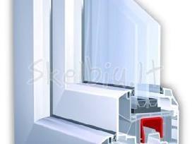 Plastikiniai bei aliuminio langai duryspertvaros