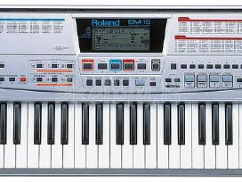 Roland Ex Syntez. em-15 .roland em-10. em-55.