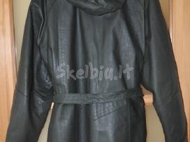 Odinis paltas / puspaltis, odinė striukė