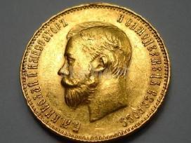 Brangiausiai perku auksines ir sidabrines monetas