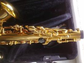 Saksofonas yamaha-275 (praktiškai naujas)