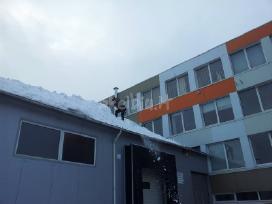 Sniego valymas nuo stogu 864688298