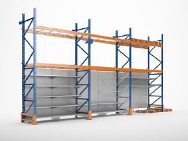 Prekybiniai stelažai / lentynos