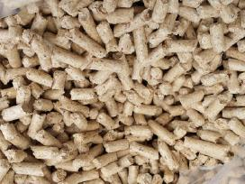 Kokybiskos medžio pjuvenų granulės briketai,
