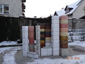Blokeliai tvoroms, blokeliu kaina,()