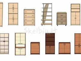 Biuro baldai , stalai, stalčių blokai