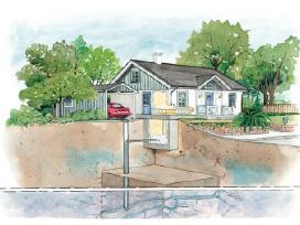 Greziami giluminiai vandens, bei geoterminiai grez