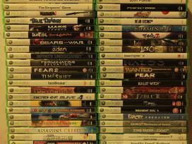 Xbox 360 ir xbox žaidimai originalūs pigiai