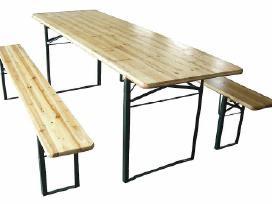 Paviljonai palapinės scena stalai suolai baldai