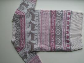 Naujas puošnus megztinis 2-3 metų mergaitei