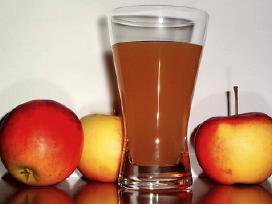 Natūralios obuolių sultys 5 ltr. maišeliuose