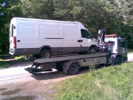 Mikroautobuso techninė pagalba