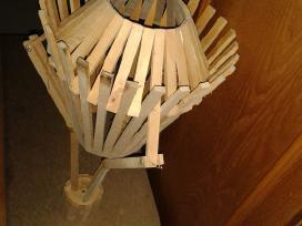 Parduodu lubini medini šviestuvo gaubta