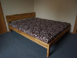 Ąžuolo medienos dvigulės lovos