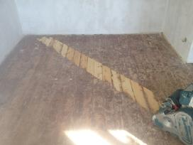 Parketo,mediniu grindu slifavimas