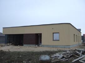 Namų statyba: pamatai, mūras, stogai, fasadai
