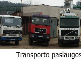 Krovinių pervežimas. Automobilių remontas