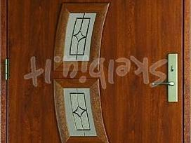 Lauko ir vidaus kambario durys namui mikea