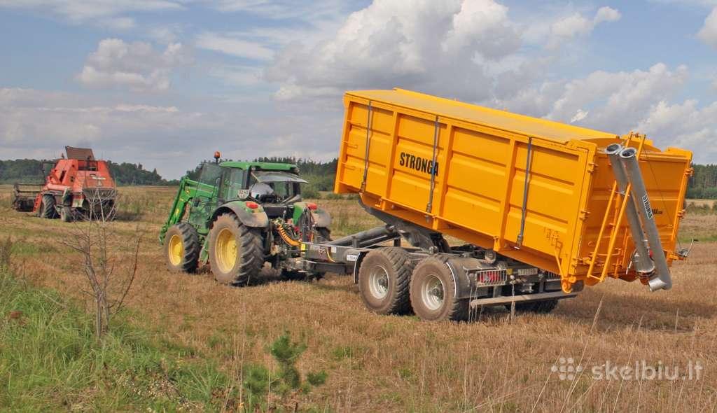 14t traktorinė priekaba Stronga Hl014d