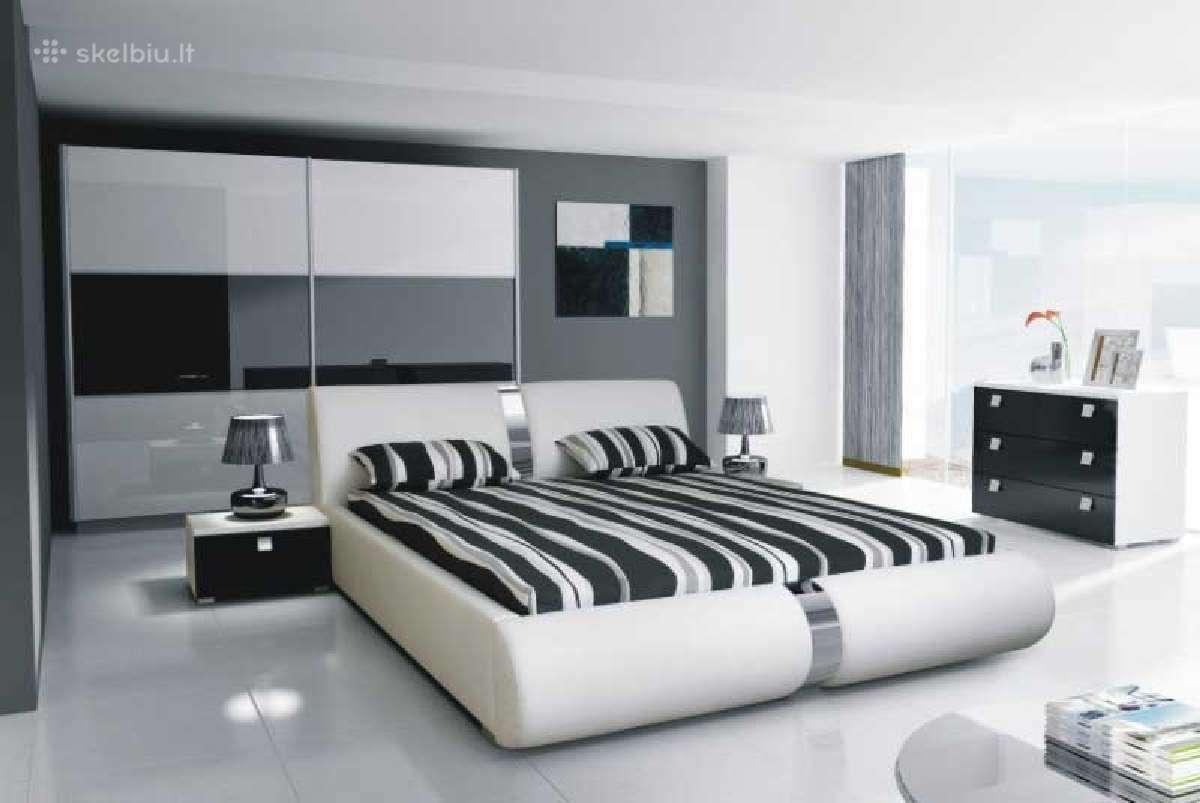 Miegamojo baldu komplektas Mio 3