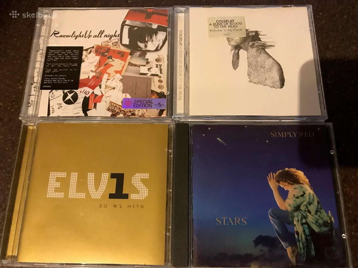 Razorlight, Coldplay, Elvis, Simply Red